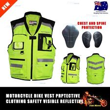Motorcycle Riding Mesh High Visibility safety Reflective Racing Vest Visible