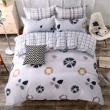 Scattered Flowers Single Double King Size Bed Set Pillowcases Quilt Duvet Cover