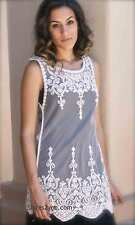 NWT Pretty Angel Clothing Apparel Mariah Shirt Dress In White S M L XL 62591