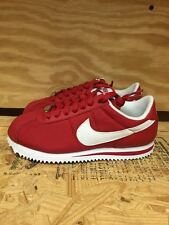 NIKE CORTEZ NYLON RED WHITE CASUAL WOMENS WMNS SZ 5-11  317566-612 L