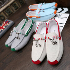 2016 Summer Leather Driving Mens Casual Slip on Loafers Moccasin Top Shoes C66