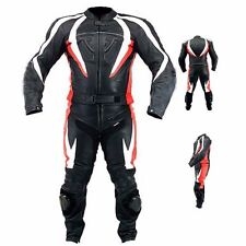 MULTI-COLOR MOTORCYCLE LEATHER SUIT MEN LEATHER SUIT MOTORBIKE BIKER JACKET PANT