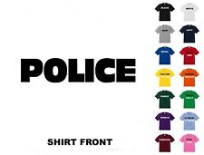 Police T-Shirt #90- Free Shipping