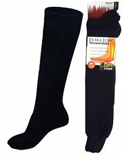 OCTAVE® Mens Extra Long Thermal Socks - 1.2 TOG - 3 Pairs or 6 Pairs