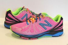 New Balance 890 V3 Womens Running Shoes Pink / Rainbow --  Size 5