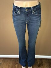 Seven 7 For All Mankind Kimmie Sexy Curvy Bootcut Gummy MidRise Jeans 29 $178