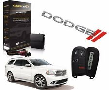 2014 2015 2016 DODGE DURANGO PLUG & PLAY REMOTE STARTER EASY INSTALL CAR START
