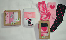 Gymboree TRES CHIC Pink French Poodle Tights 3 Pk Socks Choice NWT