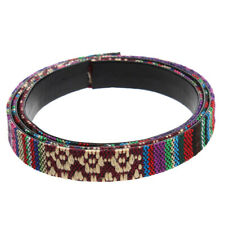 Top Quality Soft Cotton 12mm Width LEATHER FLAT CORD Thong for Necklace/Shoelace