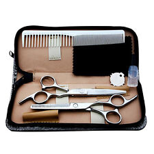Stainless Steel Kids Hair Scissors Set Thinning & Cutting Shears Barber Scissors