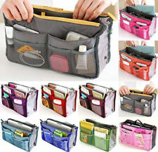 Women Lady Travel Insert Handbag Organiser Purse Large Liner Organizer Tidy Bag@