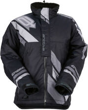 Arctiva Mens Black/Grey Comp Insulated Snowmobile Jacket