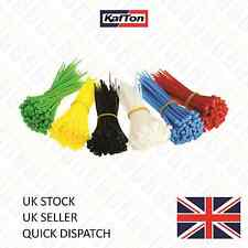 BUY 1 GET 1 FREE Cable Ties Black,Natural, Coloured Zip Tie Wrap Various Sizes.