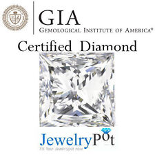 1.01CT G VS2 Princess GIA Certified & Natural Loose Diamond Stone (2151140801)