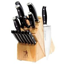 J.A. Henckels Forged Premio 14 Piece Knife Block Set