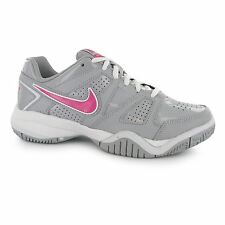 Nike City Court 7 Trainers Junior Girls Grey/Pink Sports Shoes Sneakers Footwear