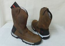 New Wolverine Mens Tarmac Welly Work Boots Style W10518 Medium Width Brown rt