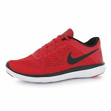 Nike Flex 2016 Run Running Trainers Juniors Red/Black Sports Shoes Sneakers