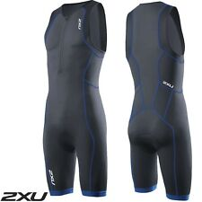 2XU Men's Active Trisuit Ink Cobalt Blue Triathlon Suit mt3105d RRP$150