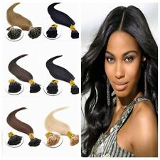 18''20''22''100s 1g/s Pre Bonded Stick I Tip Remy Real Human Hair extensions