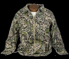 Brush Country Camo Brush Popper Hunting Jacket for Men [Size Med Lg XL 2XL]