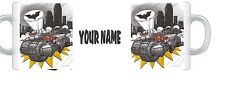 Koolart BATMAN KNIGHT RIDER GHOSTBUSTE film ANY name mug coaster gift  4 DESIGNS