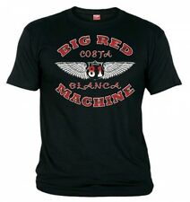 01 HELLS ANGELS Wings  Black T-Shirt Support81 Big Red Machine Bad Ass design !