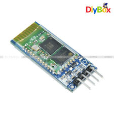 Wireless Serial Bluetooth HC-06 RS232 RF Transceiver Module 4 Pin With backplane