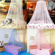 1PCS Elegant Round Lace Insect Bed Canopy Netting Curtain Dome Mosquito Net RX