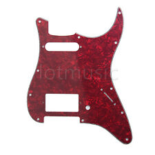 Guitar Pickguard HS(Humbucker Single) For Fender Strat Replacement Parts 3 Ply