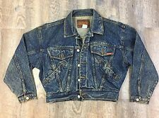 True Vintage 80s Jordache Acid Wash Denim Jean Jackets Faded Motorcycle Grunge M