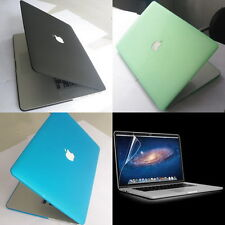 Matte Hard Case Cover Shell Clip Screen Protector for Apple MacBook Pro 15 A1398
