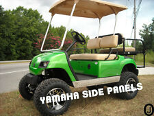 YAMAHA Golf Cart  Show Quality Diamond Plate Flat Side Panels