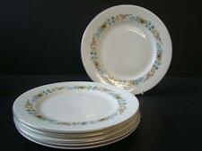 """ROYAL DOULTON PASTORALE 6 X LUNCH / DINNER PLATES 9""""  23cms 1ST QUALITY"""