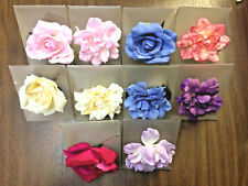 Blooming Blossoms Pin, Choker, Pony-o and Corsage flowers assorted 12 pcs