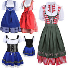 New Cheer Oktoberfest German Dirndl Fraulein Beer Maid Fancy Dress Costume Party