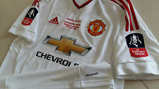 Manchester United 2016 FA CUP FINAL CLIMACOOL Away Short-sleeve Replica Shirt