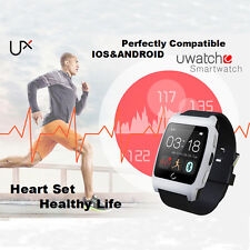 UX 1.44Inch Touch Screen Wrist Smartwatch For IOS Android