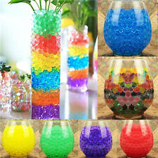 1300Pcs Water Plant Flower Jelly Crystal Soil Mud Hydro Gel Pearls Beads Balls