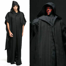 Star Wars Sith Darth Maul Tunic Hooded Cloak Robe Men Women Halloween Cosplay