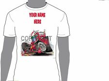 KOOLART FORMULA 1 FERRARI IRVINE ANY NAME T-SHIRT GIFT PRESENT CAR MOTOR 435