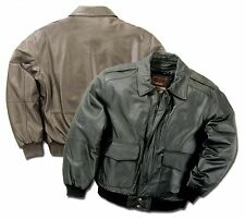 Premium Leather Aviator Bomber Flight Jacket Brown Color Reed Since 1950