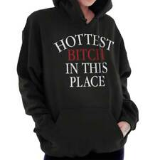 Hoes Bitch Funny Sayings Humorous Rude Novelty Fashion Gift Hoodie Sweatshirt