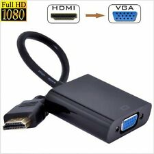 HDMI Male to VGA RGB Female HDMI to VGA Video Converter adapter 1080P for PC KL