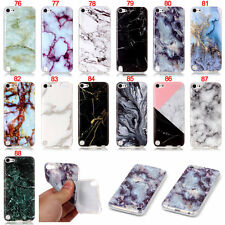 Marble Pattern Soft TPU Phone Skin Case Cover For iPod Touch 5 5th Gen 6 6th Gen