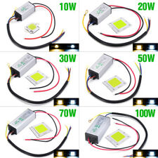 10W 20W 30W 50W 100W LED CHIP + Driver Constant Current IP65 Power Supply