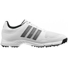 NEW MEN'S ADIDAS TECH RESPONSE 4.0 GOLF SHOES WHITE 816570/672981 - PICK A SIZE