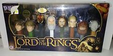 Lord of the Rings Limited Edition Pez Dispenser Set of 8 LOTR # 029279