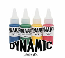 Dynamic Tattoo Ink 1oz Colours Choose Your ADVANCED TATTOO INKS