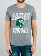 Philadelphia EAGLES Double Bar Football Helmet T-Shirt by Junk Food NWT 40% off!